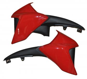 Aba Tanque Cb 300r 2013 Vermelha Metalica (par)