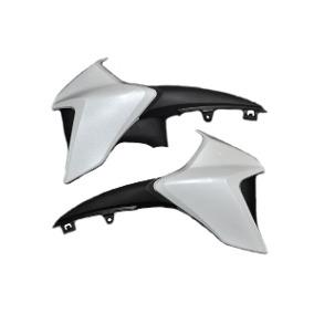 Aba Tanque Cb 300r 2014 Branco Perolizado (par) Cod 1103/022/06